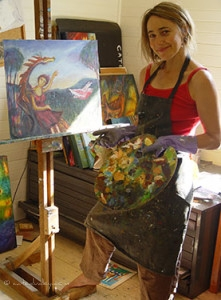 Cate Dudley Blue Mountains Artist
