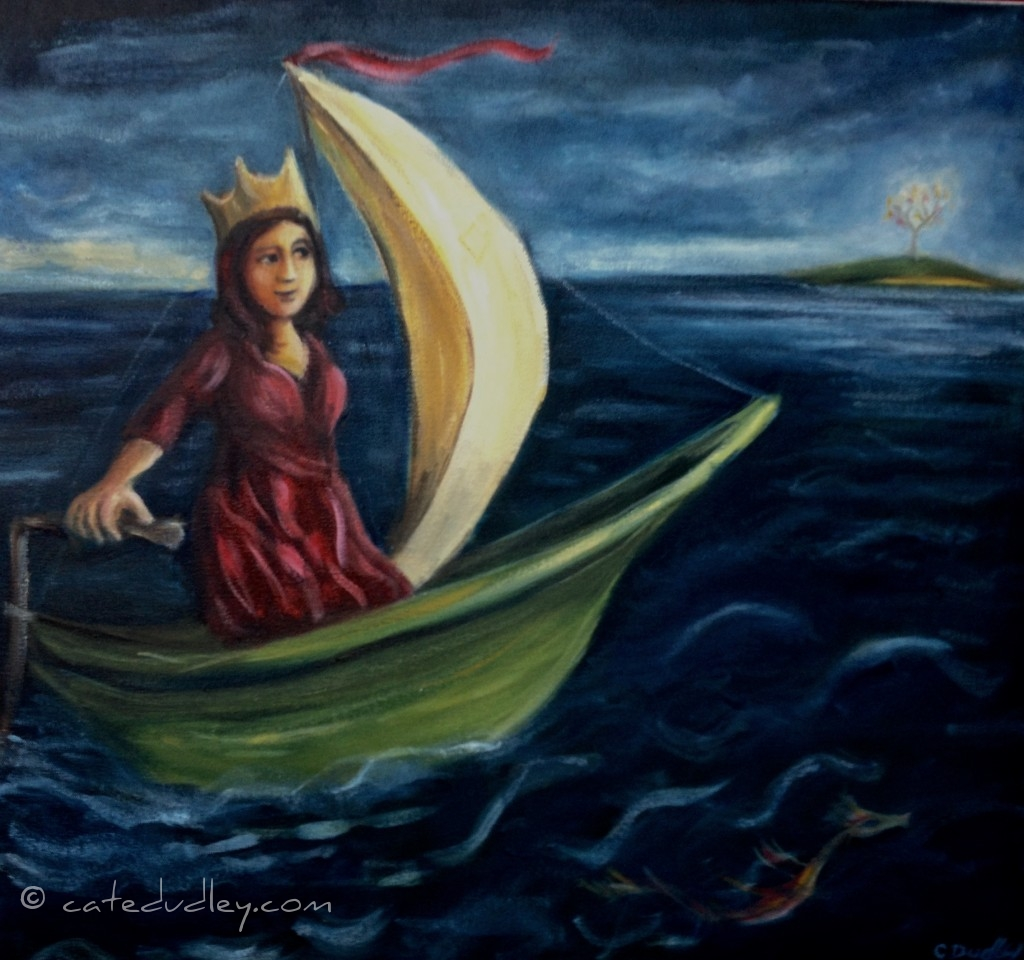 She Sails Her Own Boat